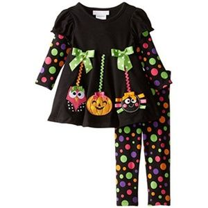 Bonnie Baby Legging Set Outfit Halloween Fall